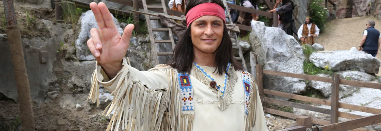Alexander Klaws als Winnetou